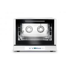 Конвектомат с пароувлажнением 4x600x400 мм - электронный, программируемый, трехфазный