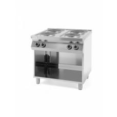 Плита электрическая 4-х конфорочная Kitchen Line на открытом модуле