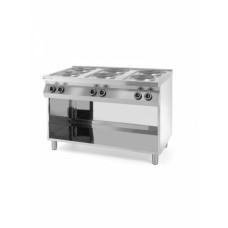 Плита электрическая 6-ти конфорочная Kitchen Line на открытом модуле