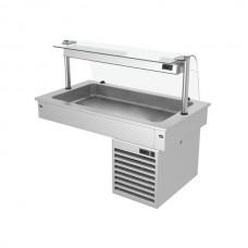 Встроенная охлаждающая ванна 1,1 м - серия С KA116C