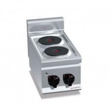 Плита электрическая, 2 конфорки - 5,2 кВт