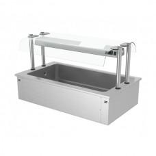 Встроенная ванна для льда 1,5 м - серия D EA156D