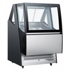 Витрина для мороженого - 0,9 х 1,06 м - 480 л