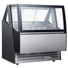 Витрина для мороженого - 1,24 x 1,06 м - 600 л