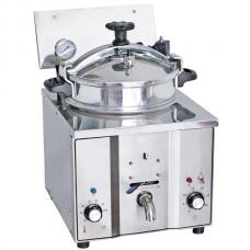 Фритюрница высокого давления электрическая, 16 литров