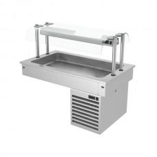 Встроенная охлаждающая ванна 1,1 м - серия D KA116D