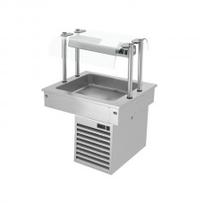 Встроенная охлаждающая ванна 0,8 м - серия D KA86D