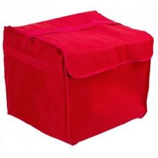 Термосумка для доставки пиццы - красная