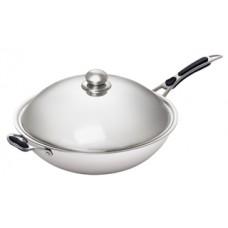 Сковорода WOK для индукц.плиты Bartscher  IW35 105981