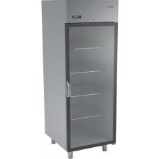 Холодильный шкаф из нержавеющей стали и стеклянной дверью DM-92102