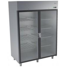 Холодильный шкаф из нержавеющей стали и стеклянной дверью DM-92109