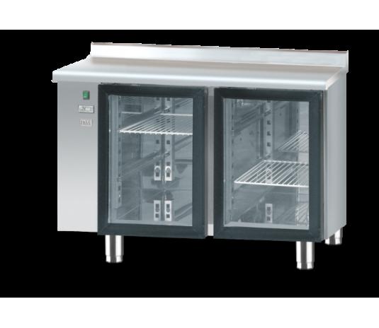 Холодильний стіл зі скляними дверима без агрегату DM-S-90005