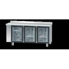 Холодильний стіл зі скляними дверима без агрегату DM-S-90006
