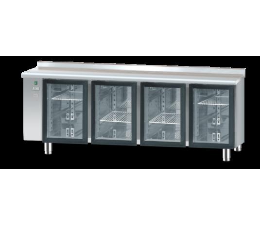 Холодильний стіл зі скляними дверима без агрегату DM-S-90008