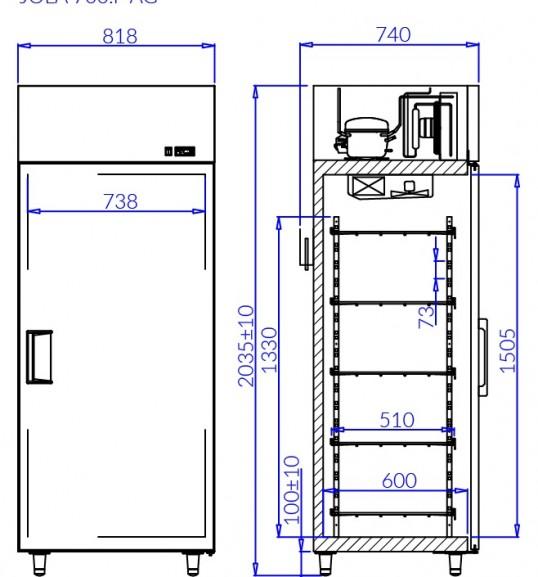 Холодильный шкаф JOLA P AG