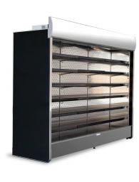 Холодильні / морозильні стелажі (регали, гірки) для невеликих магазинів (вбудований агрегат)